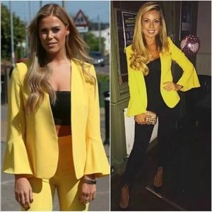 NWT Zara Bell Sleeve Open Front Blazer Jacket